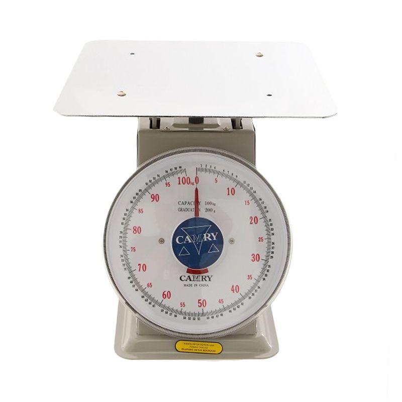 harga Camry Duduk NT100 Silver Timbangan Analog [100 kg] Blibli.com