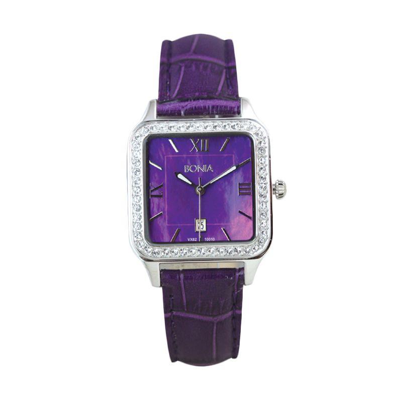 Bonia BN10010-2309S Purple Jam Tangan Wanita