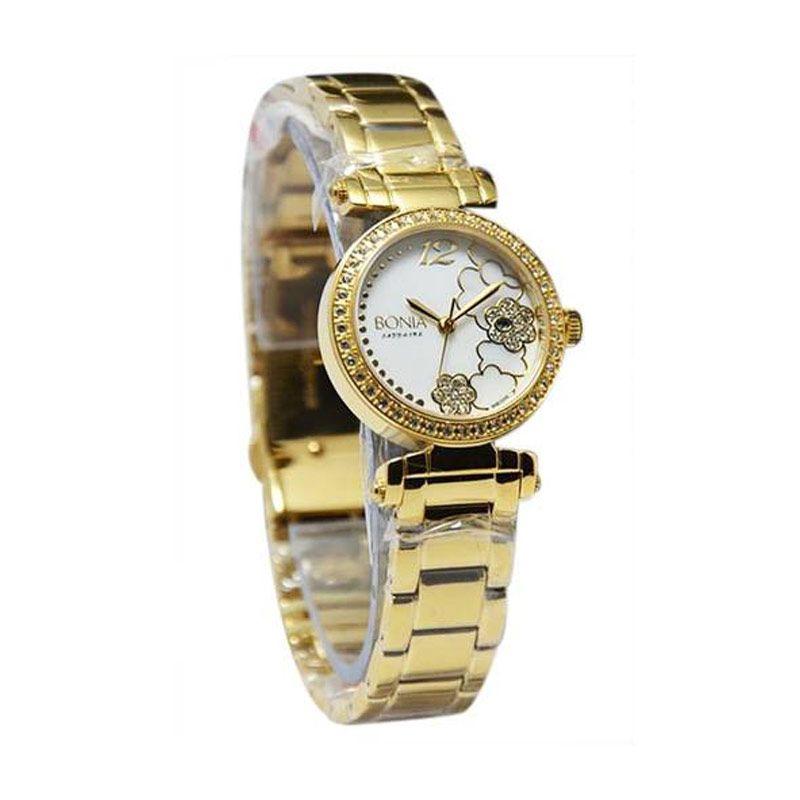 BONIA BN10048-2555S Rose Gold Jam Tangan Wanita