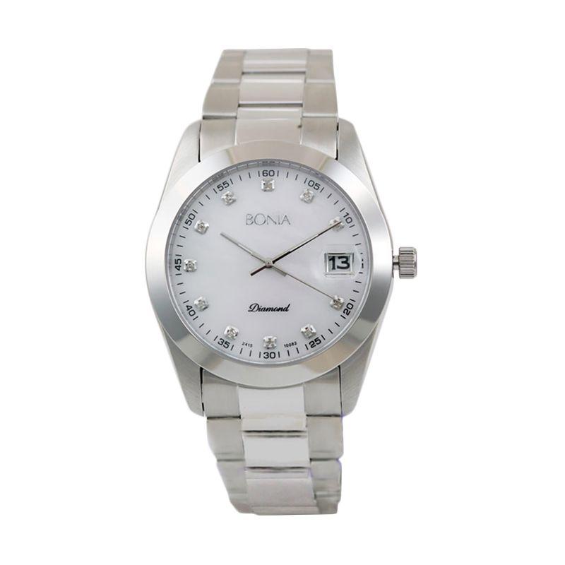 BONIA BN10082-5357 Silver Jam Tangan Pria