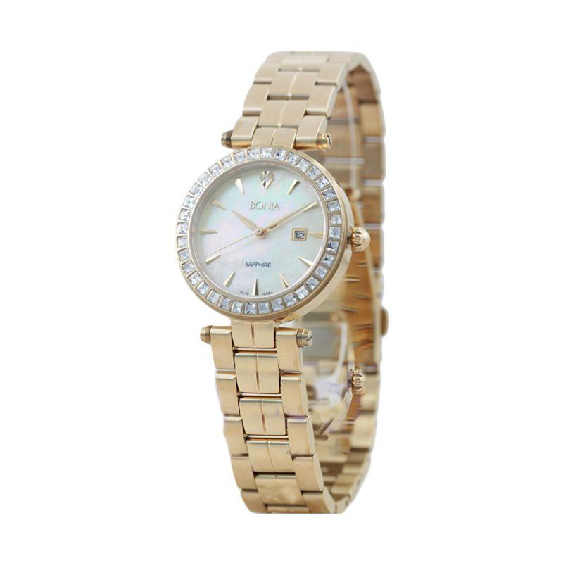 BONIA BN10084-2222S Rose Gold Jam Tangan Wanita