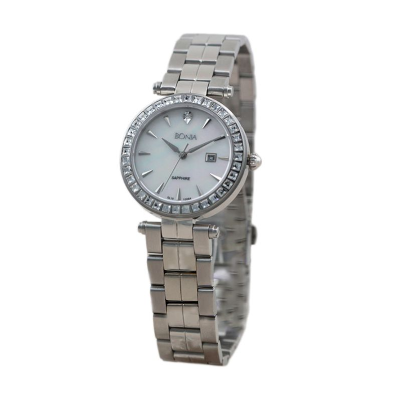 BONIA BN10084-2352S Silver Jam Tangan Wanita