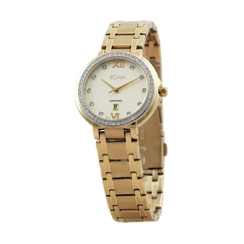 BONIA BN10091-2223S Gold Jam Tangan Wanita