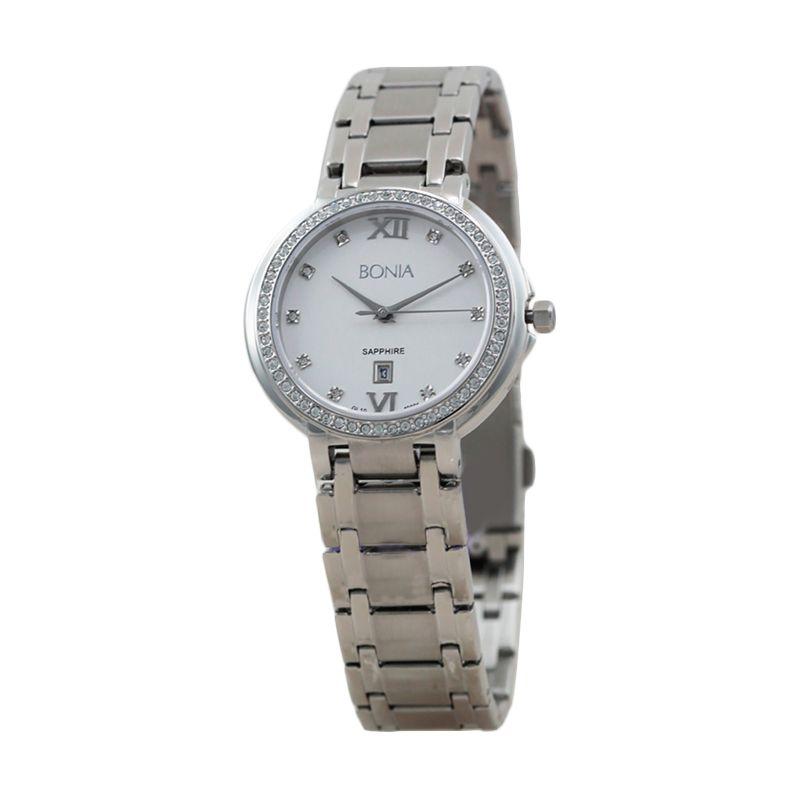 BONIA BN10091-2313S Silver Jam Tangan Wanita