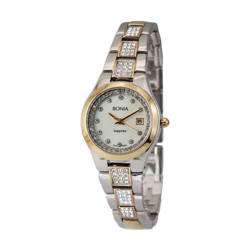 BONIA BN10092-2117S Gold Jam Tangan Wanita
