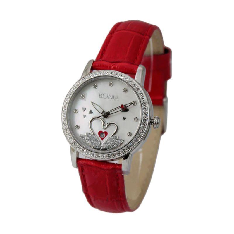BONIA BN10106-2367S Red Jam Tangan Wanita