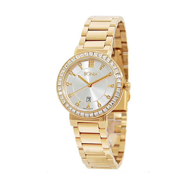 BONIA BN10114-2217S Gold Jam Tangan Wanita