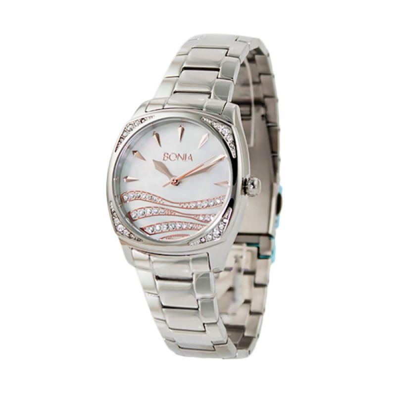BONIA BN10127-2372S Silver Jam Tangan Wanita