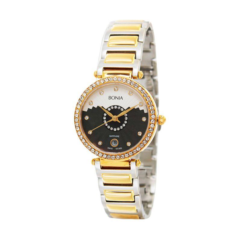 BONIA BN10130-2137S Gold Jam Tangan Wanita