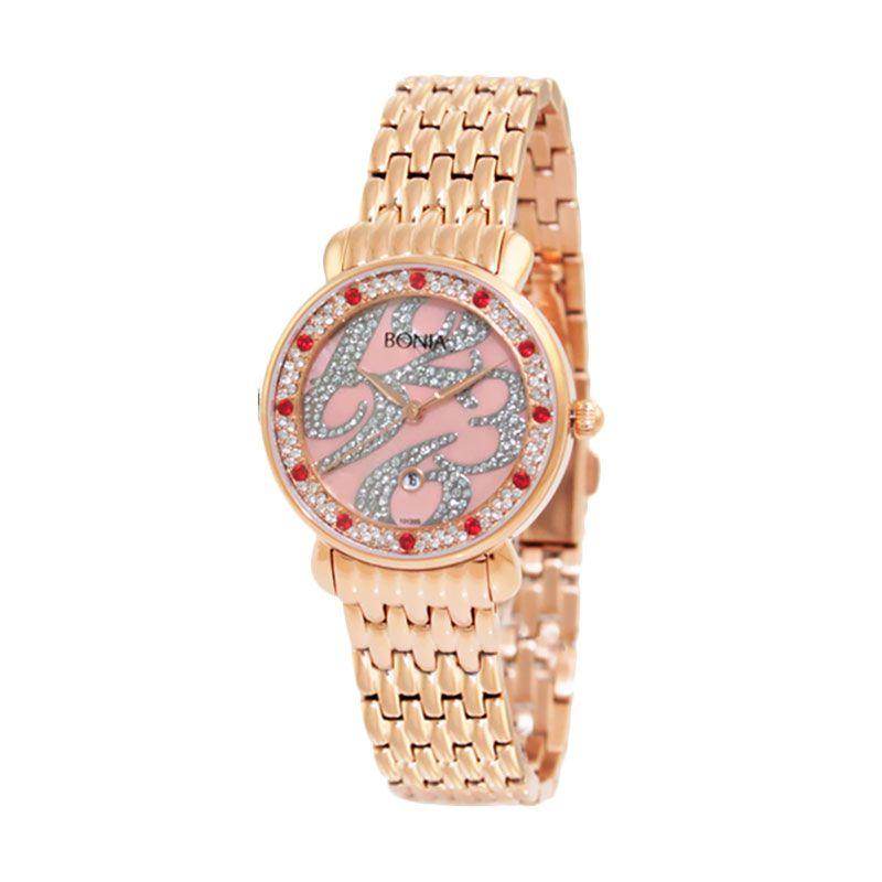 Bonia BN10135-2555S Rose Gold Jam Tangan Wanita