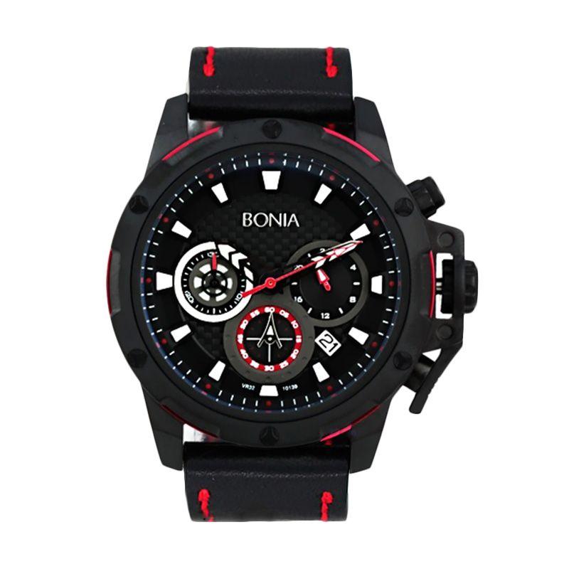 harga Bonia BN10139-1732C Black Jam Tangan Pria Blibli.com