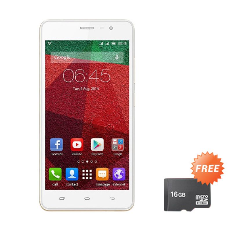 harga Infinix Hot Note X551 Smartphone - Gold [16GB/ 2GB] + Free MMC 16GB Blibli.com