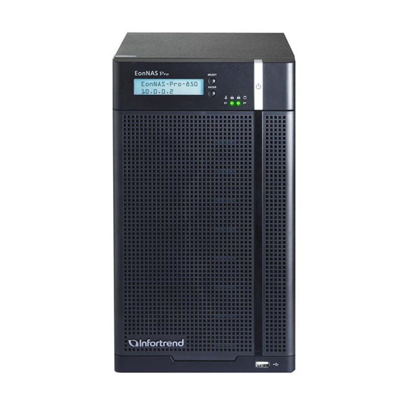 Infortrend EonNAS Pro 800 Desktop NAS [8 Bay]