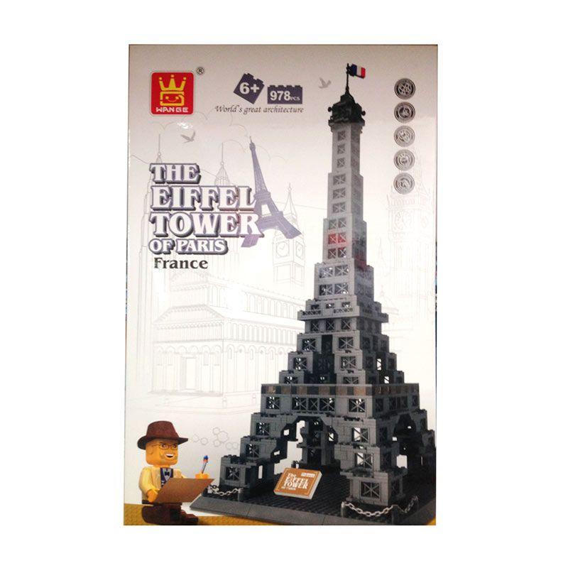 Inini Arsitektur Landmark Menara Eiffel of Paris Mainan Anak