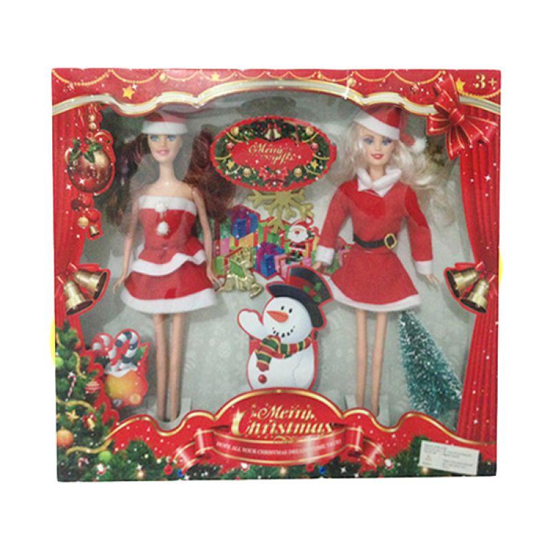 Inini Christmas Doll Mainan Anak