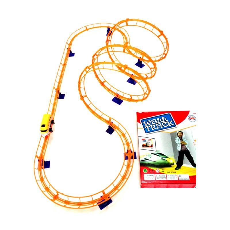 Inini Wall Track Orange Mainan Anak