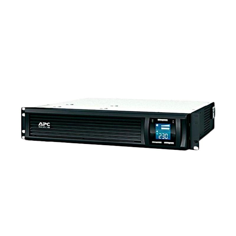 APC Smart Rackmount SMC1000I2U Black UPS