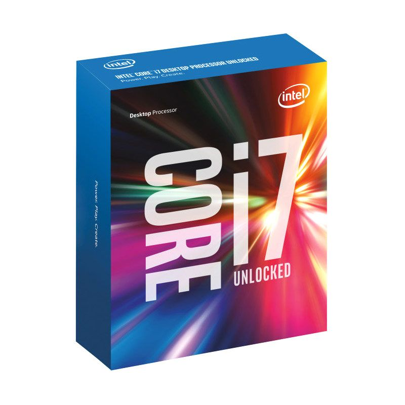 Intel Core i7 6700k ...Game Intel