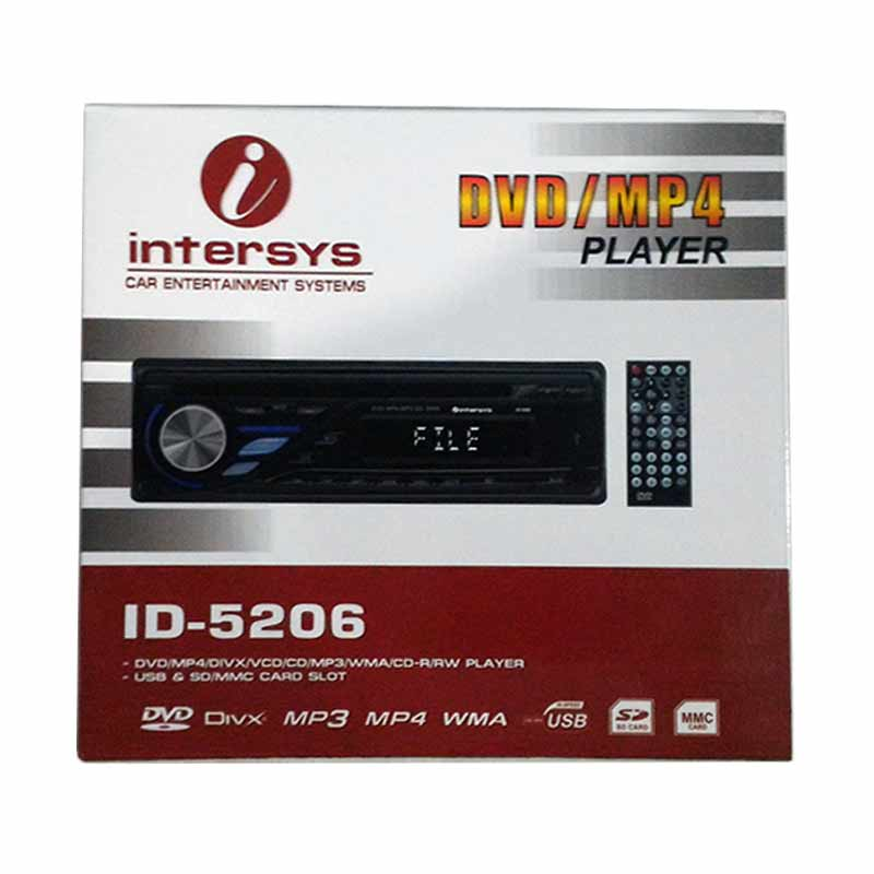 harga Intersys ID-5206 DVD/MP4 Player Blibli.com