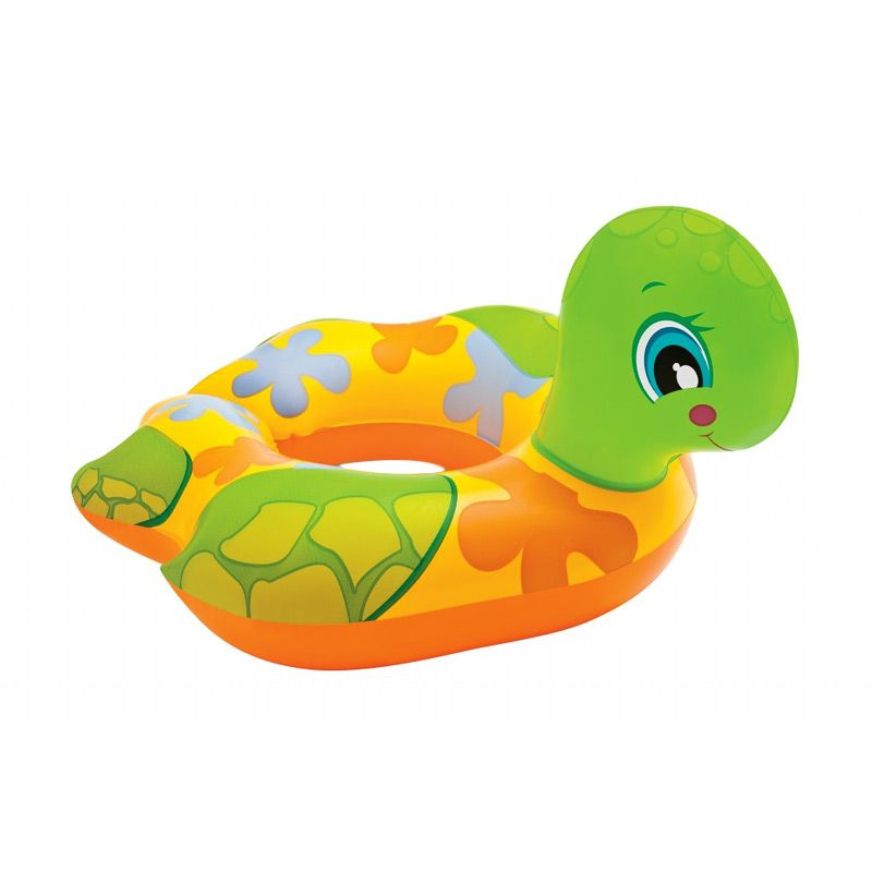 Intex Animal Split Rings 59220NP C Turtle Yellow and Green Pelampung