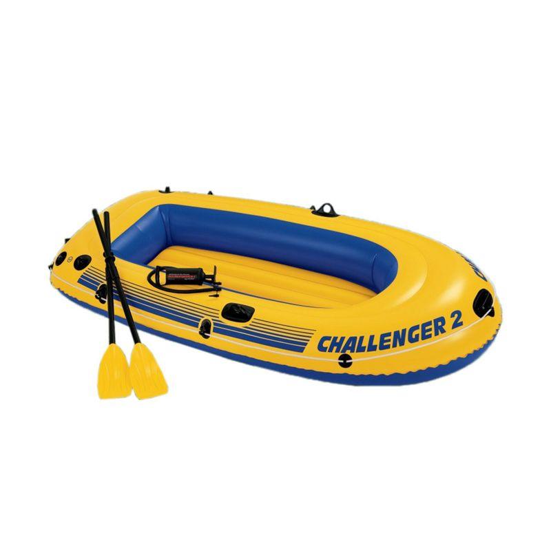 harga Rekomendasi Seller - Intex Challenger 2 68367NP Yellow Set Boat Perahu Karet Blibli.com