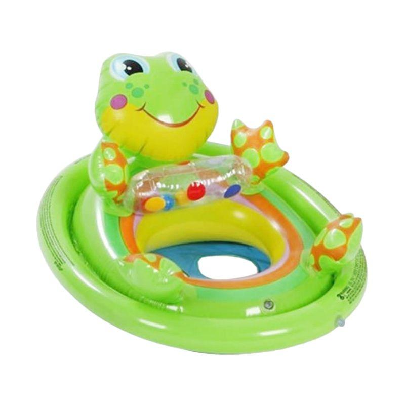 Intex SeeMesit Pool Riders 59570NP A Frog Green Pelampung