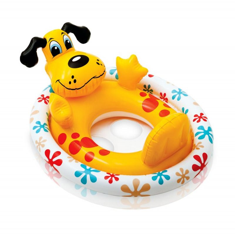 Intex SeeMesit Pool Riders 59570NP B Dog Yellow Pelampung