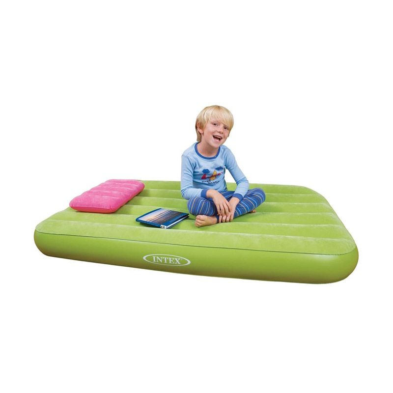Intex - Cozy Kidz Airbeds - Green
