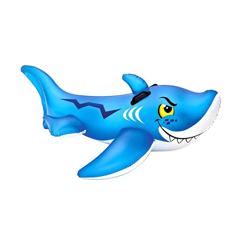 Intex Friendly Shark Ride On Mainan Anak