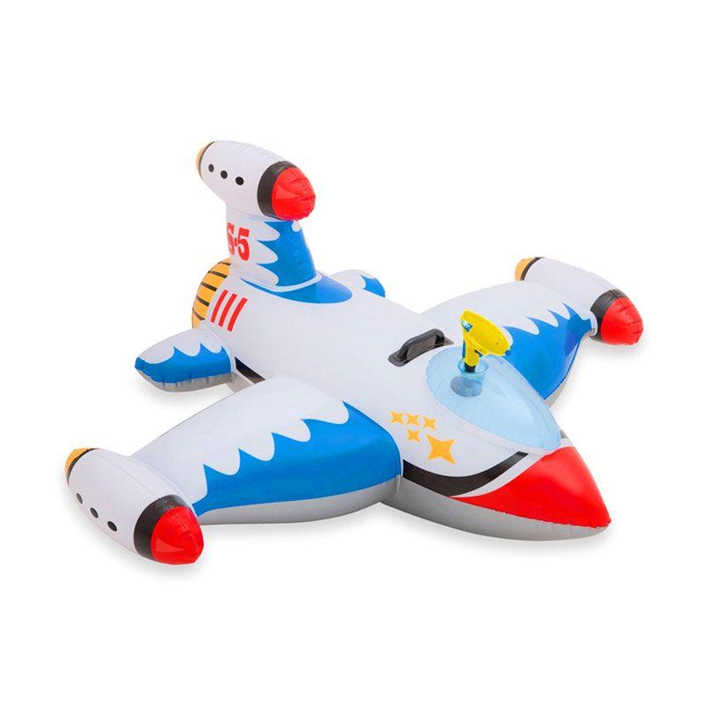Intex Water Gun Spaceship Ride Ons Plane Mainan Anak