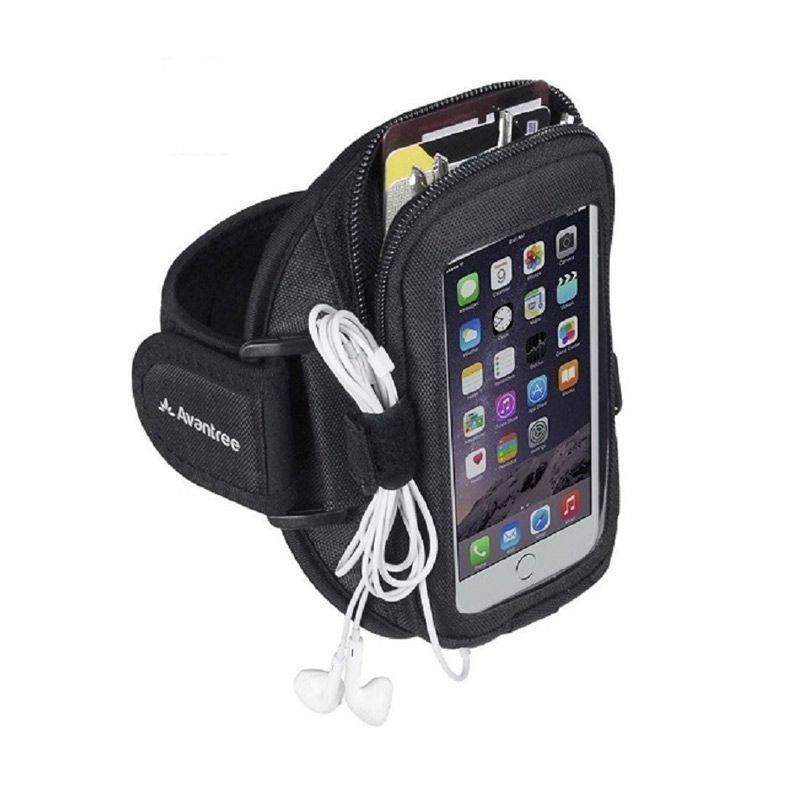 Avantree Ninja Multifunction Black Sports Armband for Smartphone