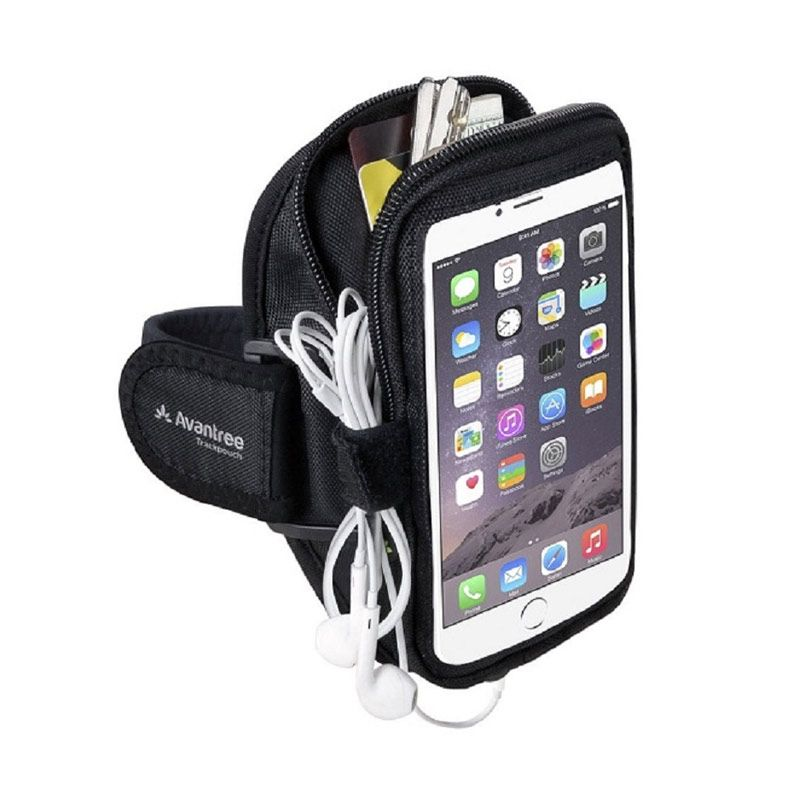 Avantree Trackpouch Multifunctional Black Sports Armband for Smartphone