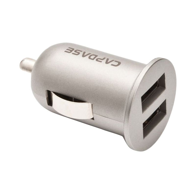 Capdase Dual USB Pico K2X Grey Car Charger [2.4 Amp]