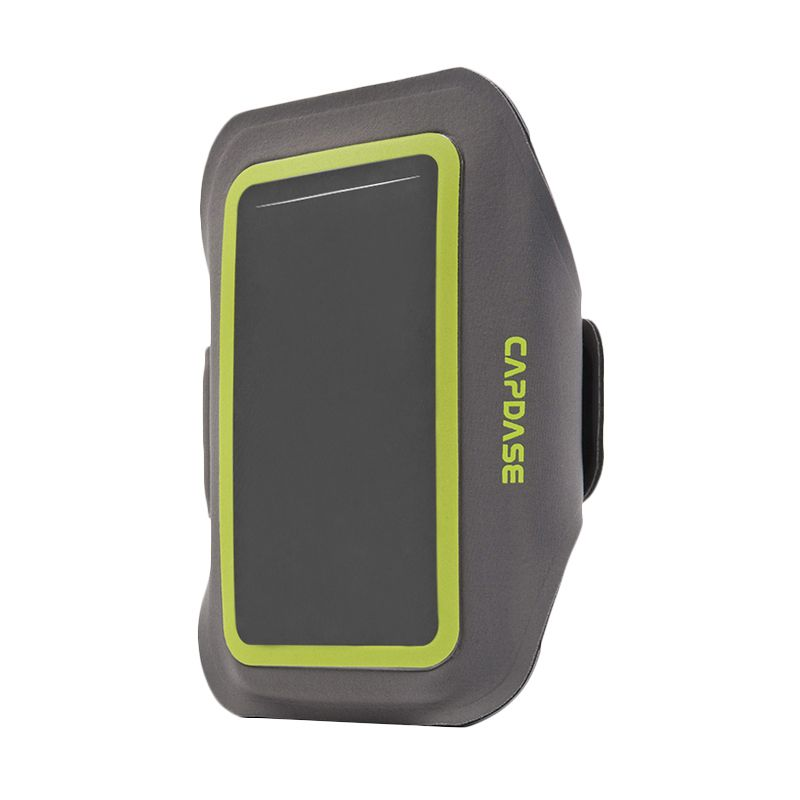 Capdase Sport Armband Zonic Plus 155A Grey Green Casing for Smartphone
