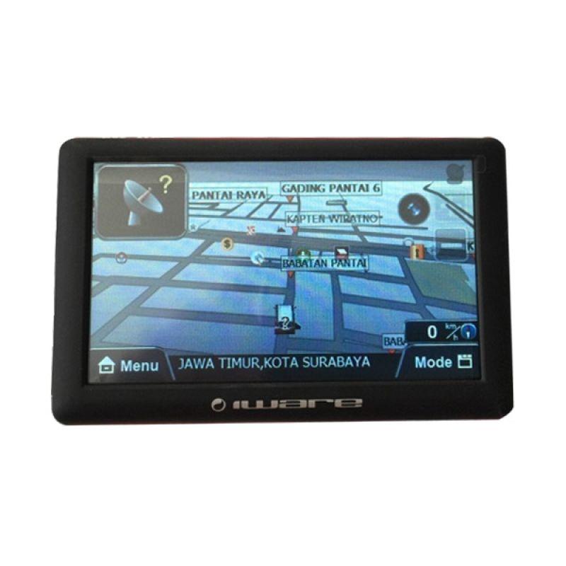 Iware 9801 Black Red GPS Navigator