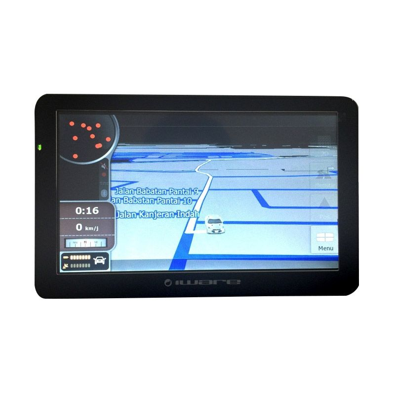 Iware HD Multimedia Navigator 9700 Black GPS [7 Inch]