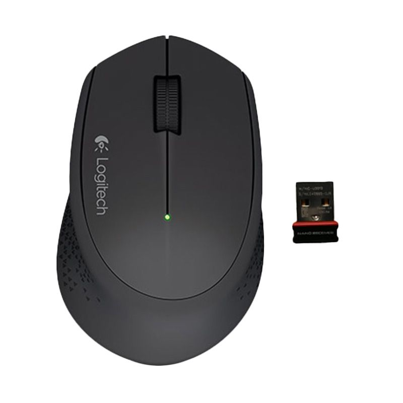 Logitech M 280 Black Wireless Mouse