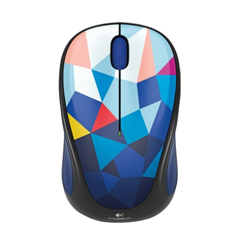 Logitech M238 Blue Facets Multicolor Wireless Mouse