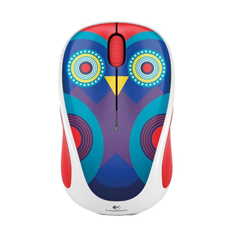 Logitech M238 Ophelia Owl Multicolor Wireless Mouse