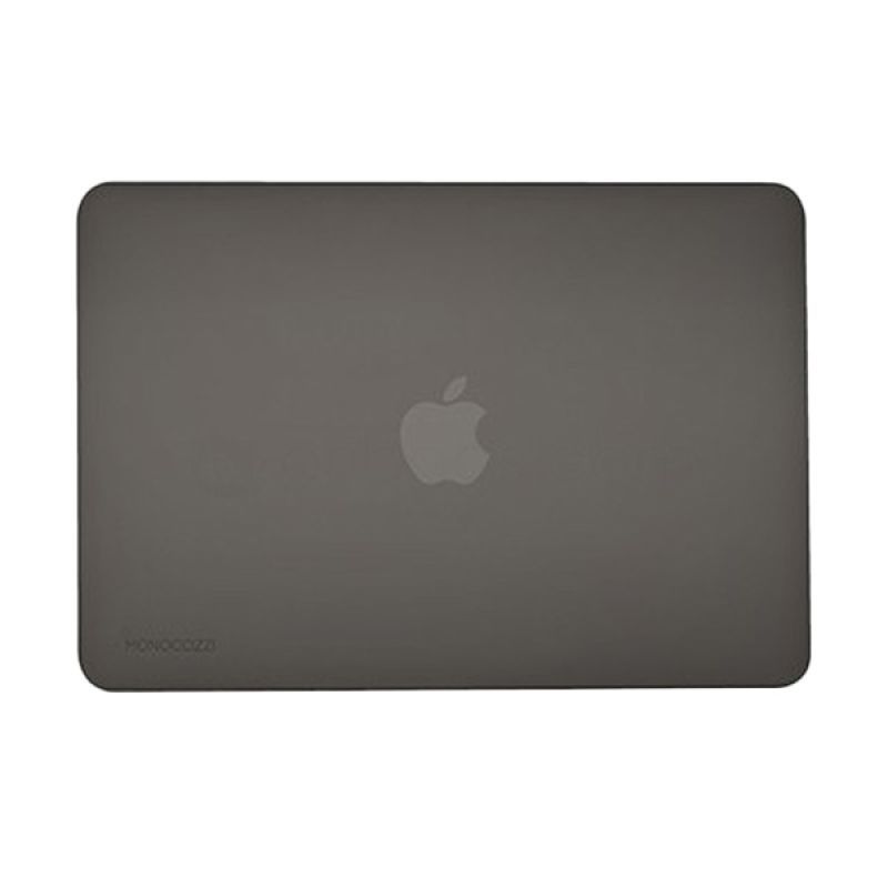 Monocozzi Lucid Hard Shell Black Casing for Macbook Air [12 Inch]