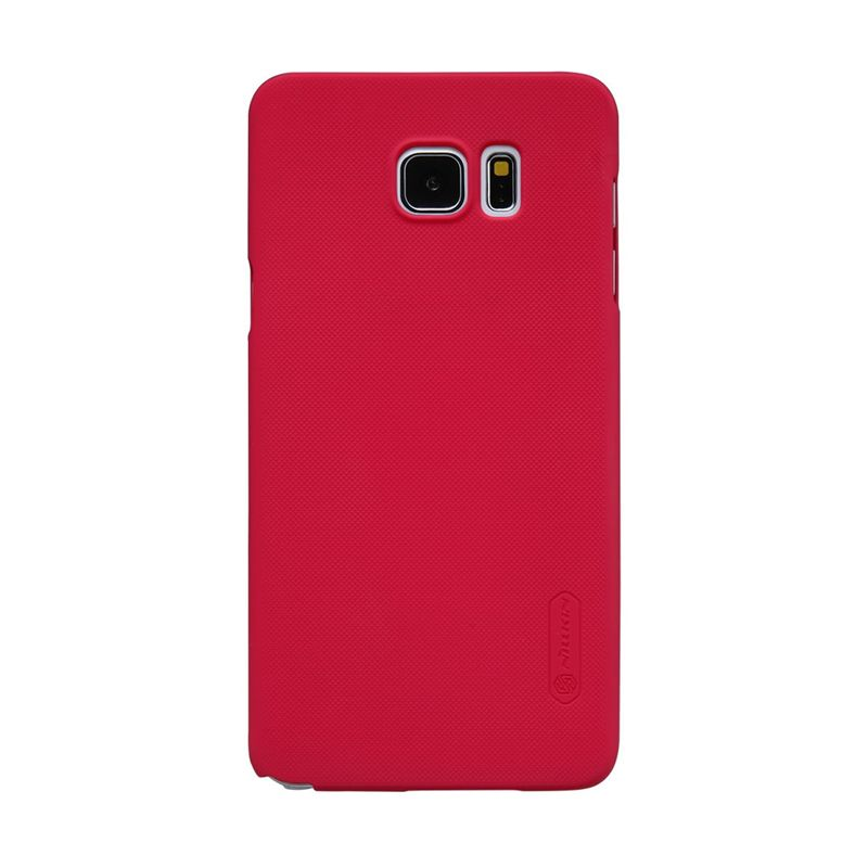 Nillkin Frosted Red Casing for Samsung Galaxy Note 5