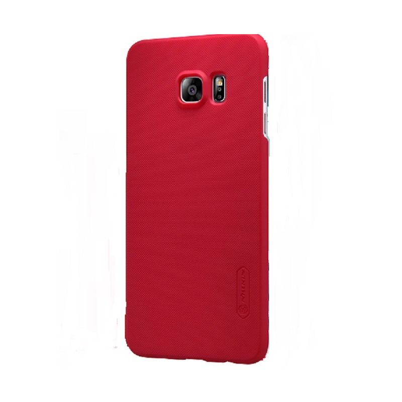 Nillkin Frosted Red Casing for Samsung Galaxy S6 Edge Plus