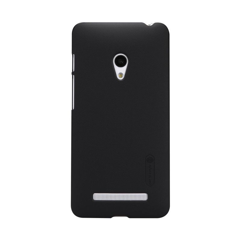 Nillkin Frosted Shield Black Casing for Asus Zenfone 5