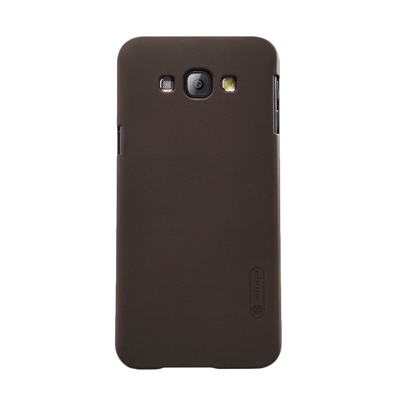 Nillkin Frosted Shield Brown Casing for Samsung Galaxy A8