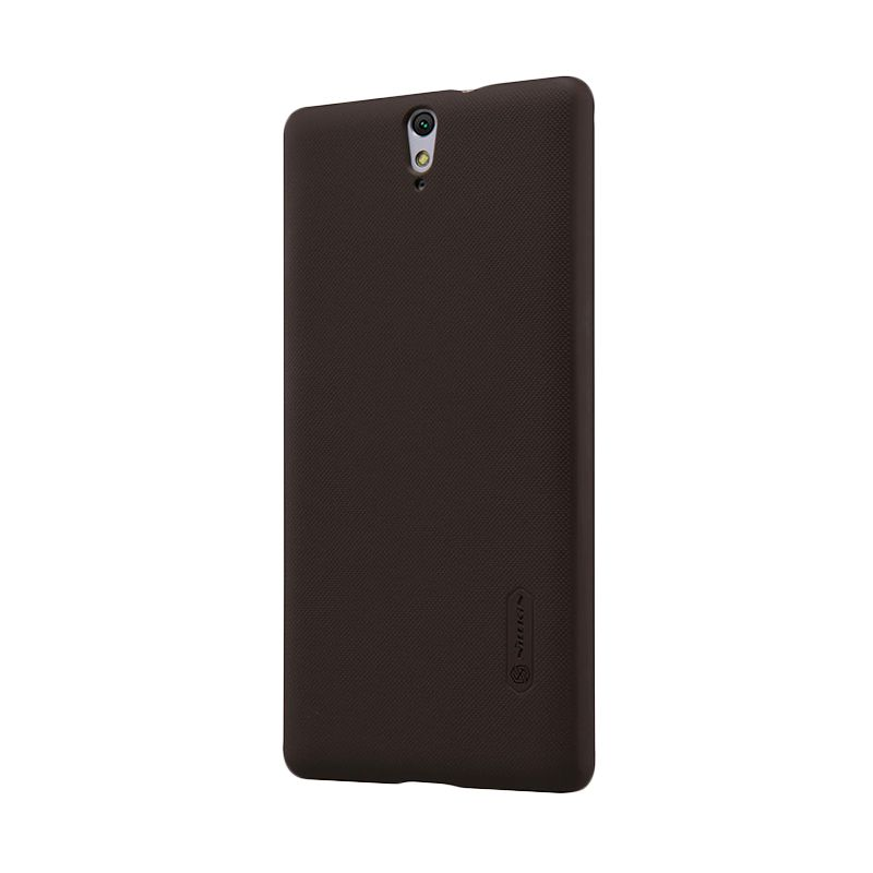 Nillkin Frosted Shield Brown Casing for Sony Xperia C5 Ultra