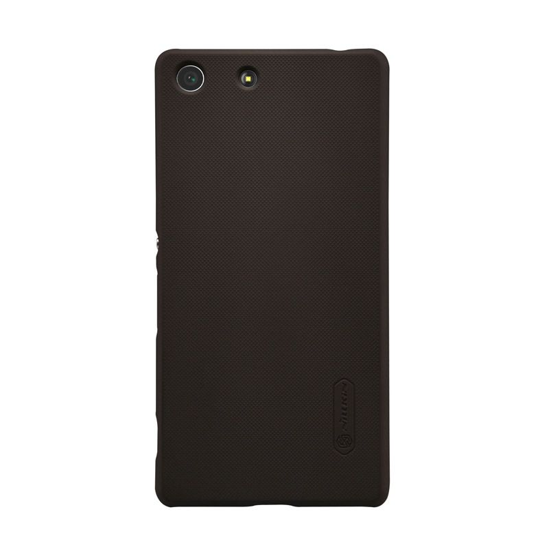 Nillkin Frosted Shield Brown Casing for Sony Xperia M5