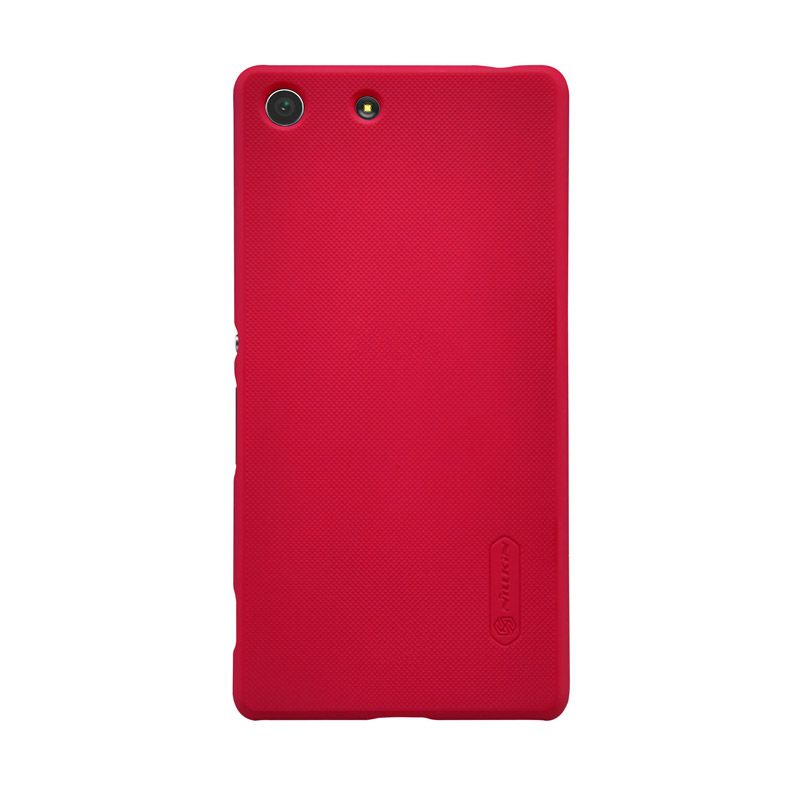 Nillkin Frosted Shield Red Casing for Sony Xperia M5