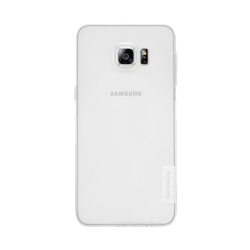 Nillkin Nature TPU Case Clear Casing for Samsung Galaxy S6 Edge Plus [0.6 mm]