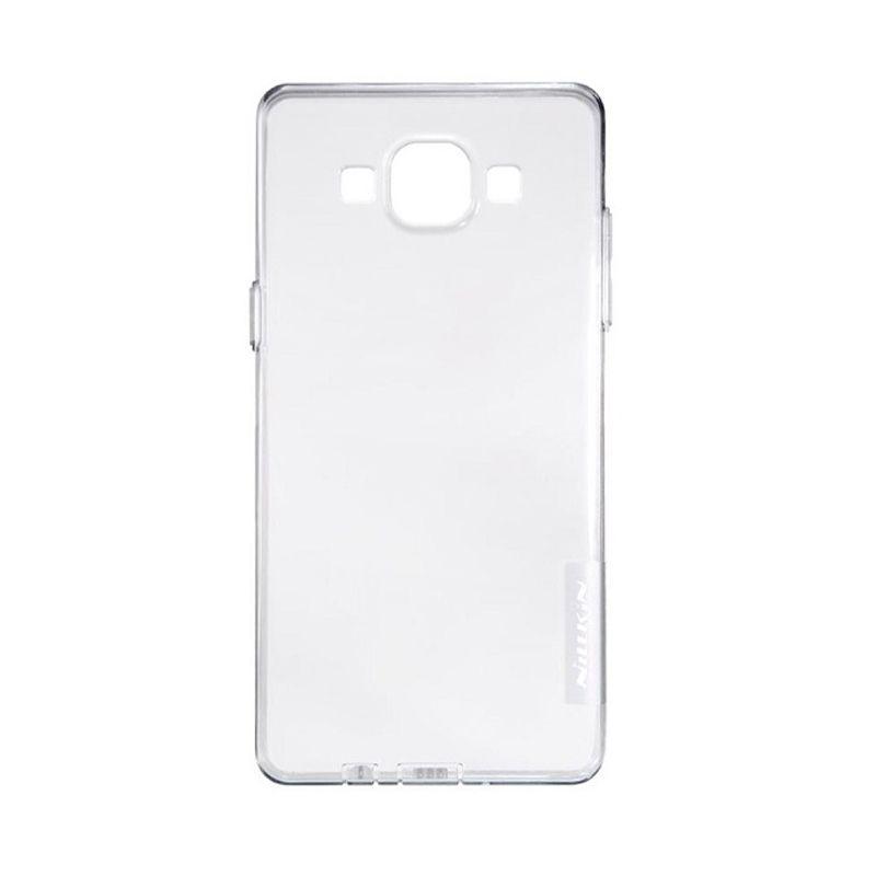 Nillkin Nature TPU Case Grey Casing for Samsung Galaxy E5 E500 [0.66 mm]