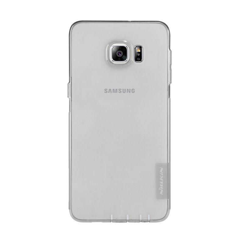 Nillkin Nature TPU Case Grey Casing for Samsung Galaxy S6 Edge Plus [0.6 mm]